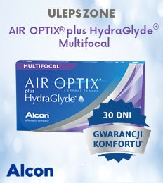 banner Air Optix plus Hydraglyde Multifocal