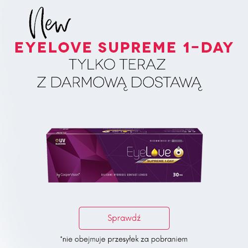 banner darmowa dostawa z EyeLove Supreme 1-Day