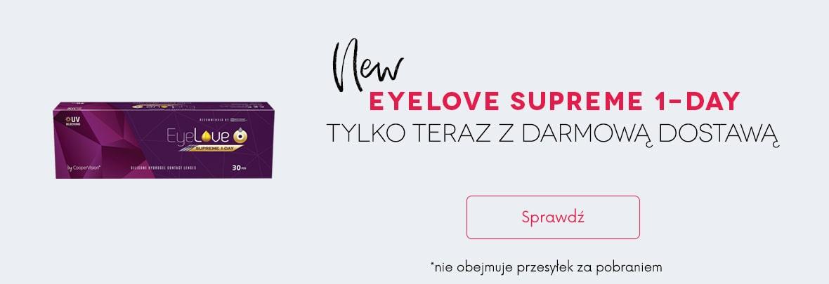 banner EyeLove Supreme 1-Day + darmowa dostawa