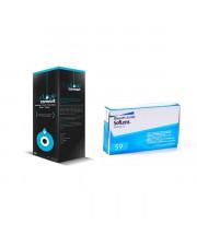 Soflens 59 6 szt. + EyeLove Comfort 500 ml