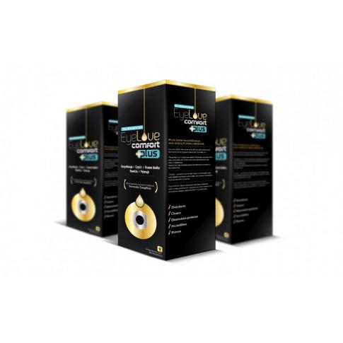 2x EyeLove Comfort PLUS 360 ml - trzeci za 50% ceny!