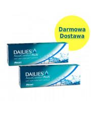 Zestaw: 2x DAILIES® AquaComfort Plus® 30 szt. + DARMOWA DOSTAWA