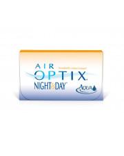 WYPRZEDAŻ: AIR OPTIX®  NIGHT&DAY® AQUA 3 szt, moc: 1,25, BC: 8.4