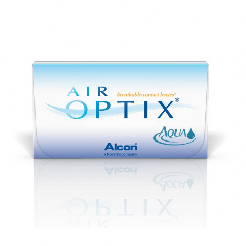 WYPRZEDAŻ: AIR OPTIX AQUA 6 szt, moc: +0,75
