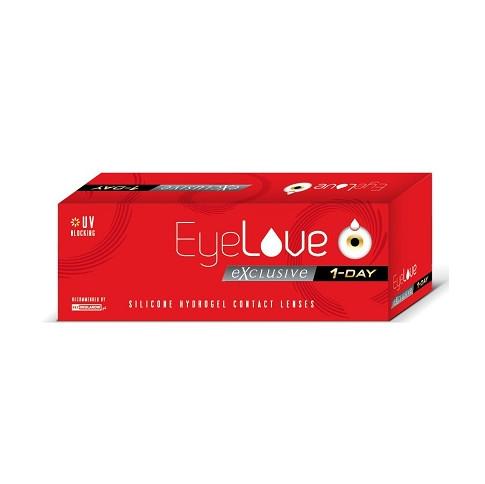 EyeLove Exclusive 1-Day 28 szt + 5 szt, moc: -4,50
