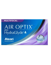 AIR OPTIX® Plus Hydraglyde MULTIFOCAL 3 szt.