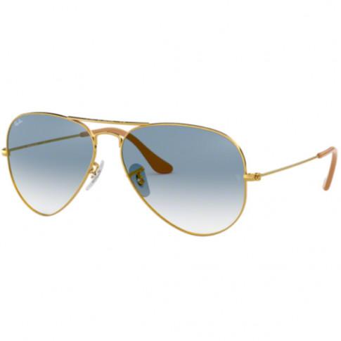 Okulary przeciwsłoneczne Ray-Ban® 3025 001/3F 58 Aviator