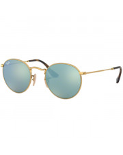 Okulary przeciwsłoneczne Ray-Ban® 3447N 001/30 47 Round Metal