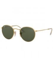 Okulary przeciwsłoneczne Ray-Ban® 3447N 001 50 Round Metal