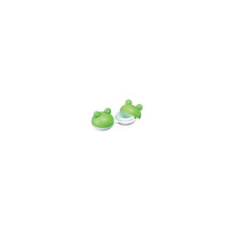 Pojemnik na soczewki Qcase - zielona żabka
