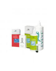 ZESTAW EYEYE: Płyn B5 Active 200 ml + Crystal Cleaner 40 ml + 3-N-Zym tabletki odbiałczające + Saline 360 ml GRATIS