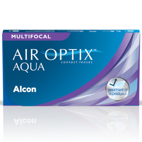 AIR OPTIX®  AQUA  MULTIFOCAL 3 szt. - dokładne widzenie