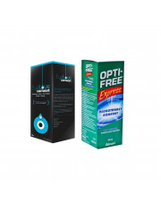 ZESTAW: Płyn Eyelove Comfort 360 ml + Płyn Opti-Free Express 355 ml