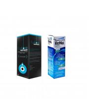 ZESTAW: Eyelove Comfort 360 ml + Płyn Renu Multiplus 360 ml