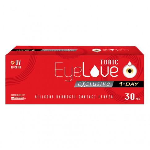 EyeLove Exclusive 1-Day Toric 30 sztuk