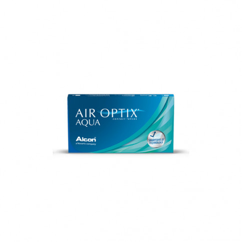 AIR OPTIX®  AQUA 6 szt. - soczewki miesięczne