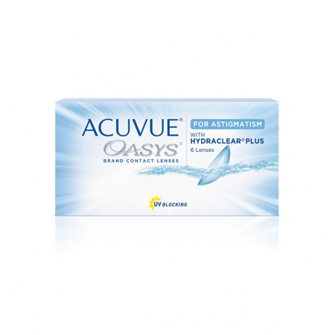 Acuvue Oasys for Astigmatism 5 szt. moc: -1,50, cyl: -0,75, oś: 180