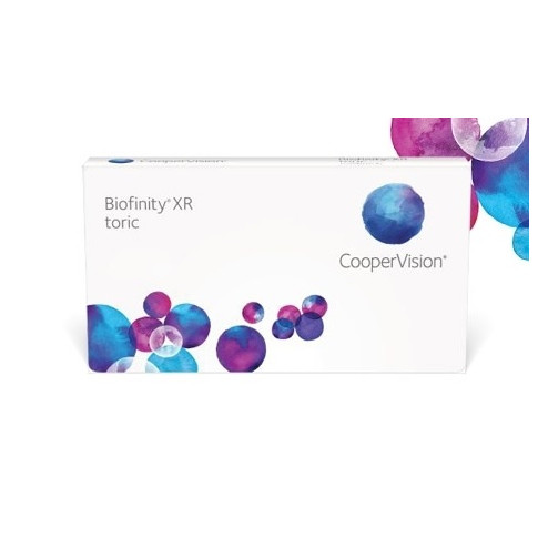 WYPRZEDAŻ: Biofinity XR 3 szt., moc: -14,50