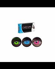 WYPRZEDAŻ Crazy Lens UV Glow 2 szt. Moc 0,00 ORANGE