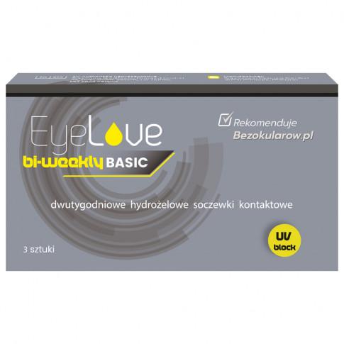 EyeLove Basic bi-weekly 3 sztuki - soczewki dwutygodniowe