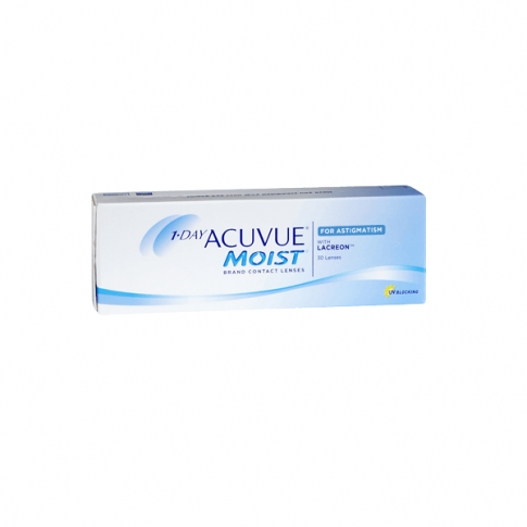 WYPREZEDAŻ Acuvue 1-Day Moist for Astigmatism 30 szt.