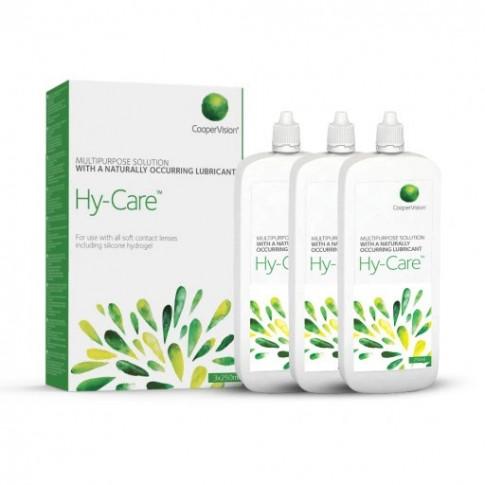 Hy-Care 3x250 ml - wygodna płaska butelka