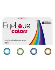 EyeLove Colors 2 szt. - soczewki kolorowe