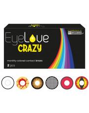 EyeLove CRAZY 2 szt. - szalone soczewki kolorowe