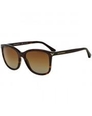 Okulary przeciwsłoneczne Emporio Armani 4060 5026/T5 56 z polaryzacją