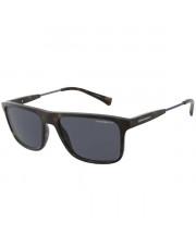 Okulary przeciwsłoneczne Emporio Armani 4151 5089/2V 56 z polaryzacją
