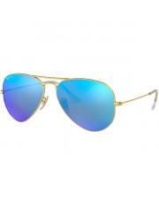 Okulary przeciwsłoneczne Ray-Ban® 3025 112/4L 58 Aviator z polaryzacją