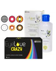 EyeLove Crazy 2 szt. + EyeLove Natural 100 ml + pojemnik