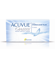 Acuvue Oasys 6 szt. + płyn 60 ml GRATIS (do 2 op.)
