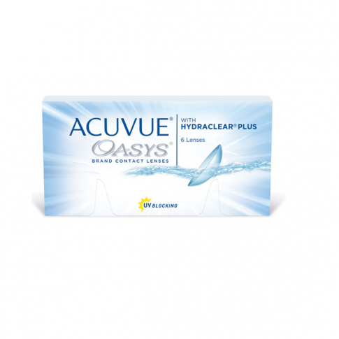 ACUVUE OASYS 2-WEEK with HYDRACLEAR PLUS 6 szt. BC: 8,8