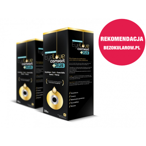 ZESTAW: EyeLove Comfort PLUS 2x500 ml