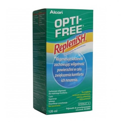 OPTI-FREE® RepleniSH® 120 ml