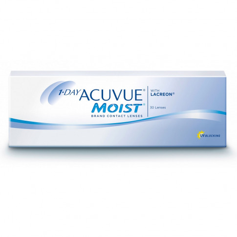 Acuvue 1-Day Moist 30 szt. + 10 szt. EyeLove Comfort 1-Day GRATIS!