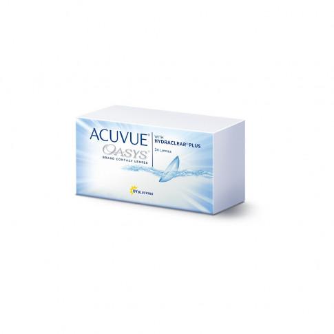 Acuvue Oasys 24 szt. + 4 szt. soczewek EyeLove Exclusive PRO GRATIS!