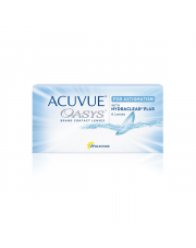 Acuvue Oasys for Astigmatism 6 szt. + płyn 60 ml GRATIS (do 2 op.)