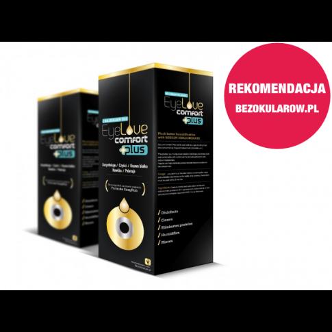 ZESTAW: EyeLove Comfort PLUS 2x360 ml