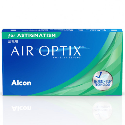 AIR OPTIX®  for  ASTIGMATISM 6 szt.