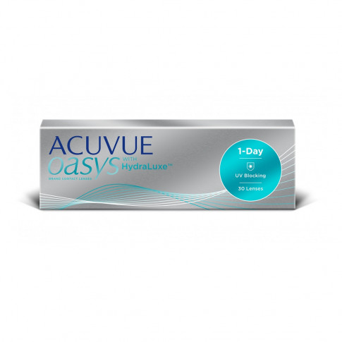 ACUVUE OASYS 1-Day with HydraLuxe 30 szt. + GRATIS (do 2 op.)