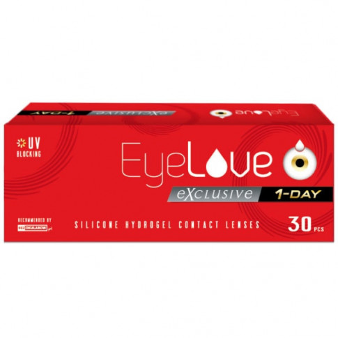 EyeLove Exclusive 1-Day 30 szt. + czapka gratis