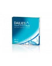 WYPRZEDAŻ: Dailies AquaComfort Plus 90 szt, moc: +5,50